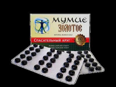 Mumio čisté 60 tab. 0,2g
